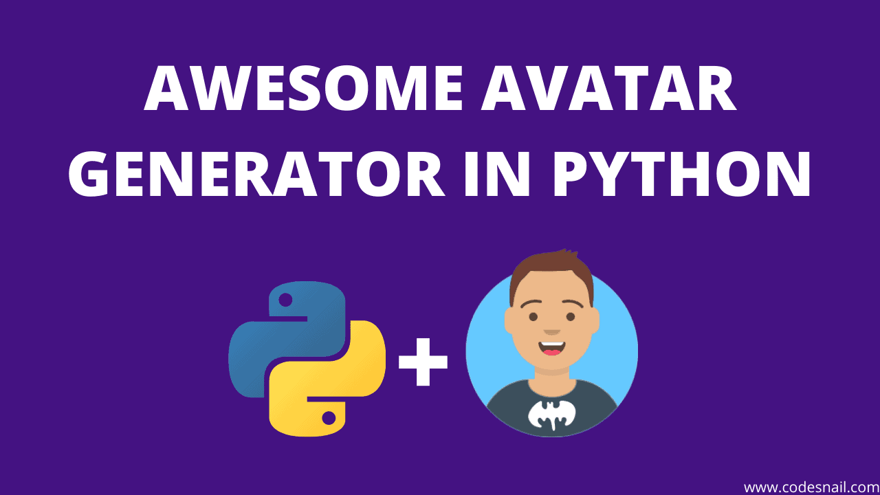awesome-avatar-generator-in-python