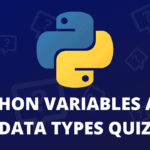 python variables and data types quiz
