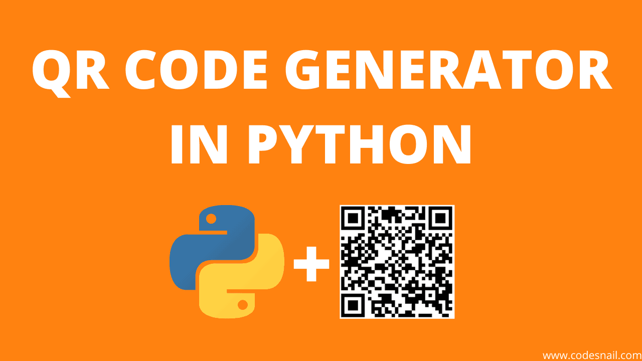 qr code generator in python