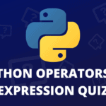 python operators and expression quiz