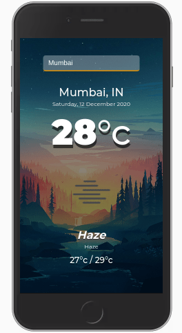 build a weather app using javascript