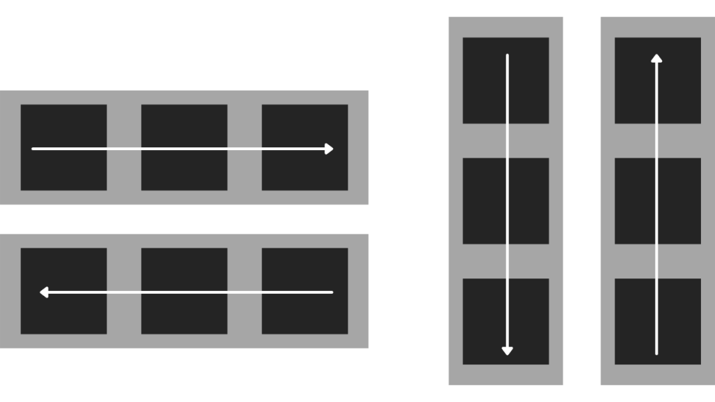 flexbox direction